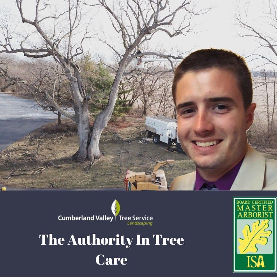 Authority in Tree Care Evan Brumfield ISA Board Certified Master Arborist