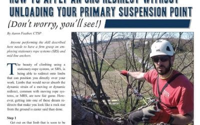 "CVTS-L Safety Director Demonstrates an Advanced SRS Climbing Technique in ""Tree Care Industry Magazine"" / Safety Meetings Go Digital"