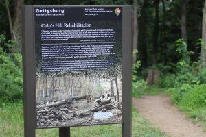 culp's hill rehabilitation project